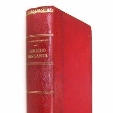 Libros antiguos: 1890 - (DERECHO) - CURSO DE DERECHO MERCANTIL, FILOSÓFICO, HISTÓRICO Y VIGENTE - 2 TOMOS EN 1 VOL.. Lote 74318175