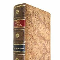 Libros antiguos: 1907 - (DERECHO) - G. P. CHIRONI - LA CULPA EN EL DERECHO CIVIL MODERNO. CULPA CONTRACTUAL,. Lote 74320467