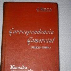 Libros antiguos: MANUALES SOLER CORRESPONDENCIA COMERCIAL FRANCES ESPAÑOL. Lote 74741103