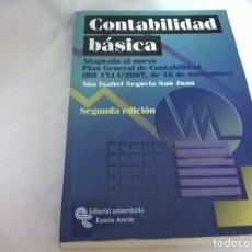 Libros antiguos: CONTABILIDAD BASICA. Lote 74982567