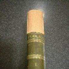 Libros antiguos: ELEMENTOS DE DERECHO INTERNACIONAL PUBLICO, MADRID , 1866. Lote 75265195