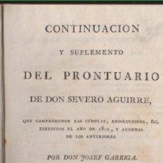 Libros antiguos: LIBRO QUE COMPRENDE LAS CEDULAS Y DISPOSICIONES REALES EXPEDIDAS EN EL AÑO 1801. Lote 75640619