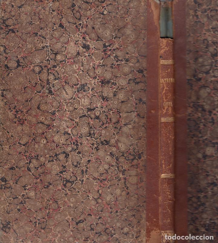Libros antiguos: Varios. Leyes provisionales del matrimonio y del registro civil. Madrid, 1870. - Foto 2 - 76009991