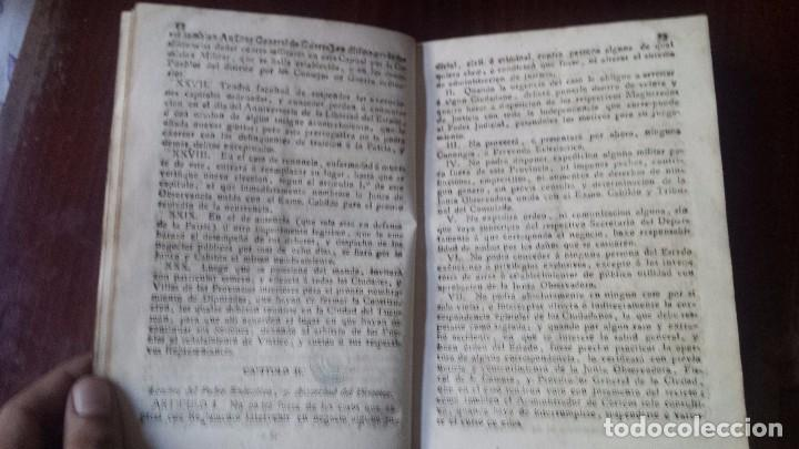 Libros antiguos: Estatuto Provisional Para La Dirección y Administración Del Estado. Buenos Ayres (1815) - Foto 2 - 77897073