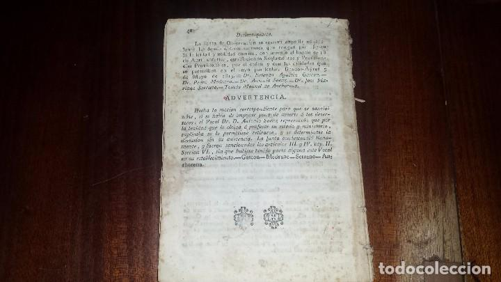 Libros antiguos: Estatuto Provisional Para La Dirección y Administración Del Estado. Buenos Ayres (1815) - Foto 3 - 77897073