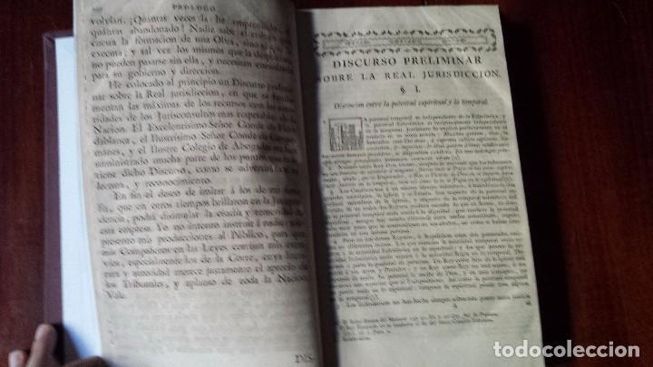 Libros antiguos: Máximas Sobre Recursos de Fuerza y Protección. José Covarrubias. 3ª edición. (1785) Reencuadernado - Foto 2 - 78938249