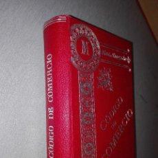 Libros antiguos: CÓDIGO DE COMERCIO AUMENTADO CON LA LEY DE HIPOTECA NAVAL / MANUEL ALEU Y CARRERA / MADRID 1907. Lote 79151433