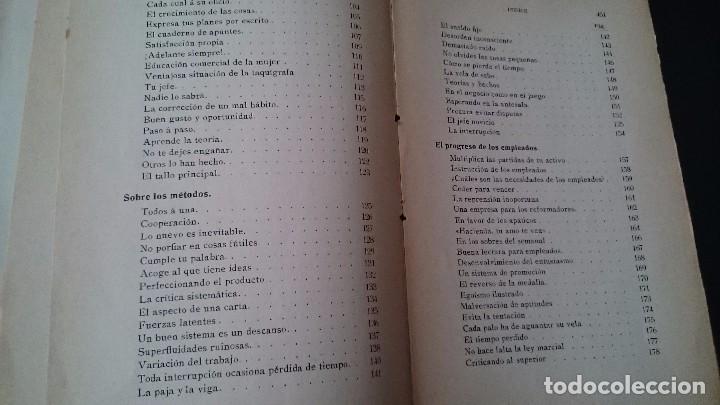 Libros antiguos: LA CIENCIA DE LOS NEGOCIOS - PONDRAY WARREN _ GUSTAVO GILI EDITOR BARCELONA 1912 - Foto 6 - 79638445