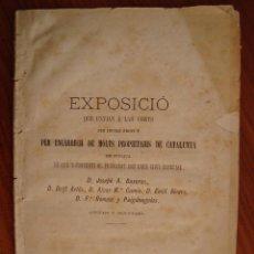 Libros antiguos: COMISSIÓ PER LA CONSERVACIÓ DEL DRET DE CATALUNYA. BARCELONA, 1886.. Lote 80731194
