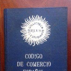 Libros antiguos: CÓDIGO DE COMERCIO ESPAÑOL, 4ª EDICIÓN DE 1954. Lote 81825688