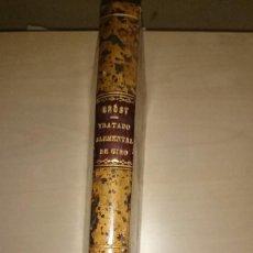 Libros antiguos: TRATADO ELEMENTAL DE GIRO. JOSE MARIA BROST. 1827. PIEL. COMO NUEVO.. Lote 81946884