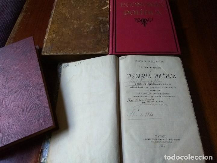 Libros antiguos: Lote Economía Política (3 libros) + Psicología del socialismo - Foto 4 - 83489580