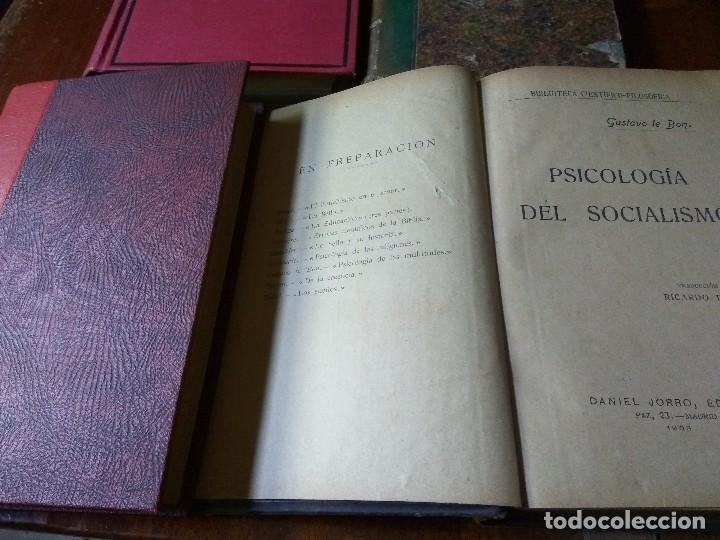 Libros antiguos: Lote Economía Política (3 libros) + Psicología del socialismo - Foto 6 - 83489580