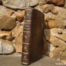 Libros antiguos: SANTIAGO DE ALVARADO Y DE LA PEÑA: NOVÍSIMO MANUAL DEL CRIMINALISTA, 1832 IMP.TOMAS JORDAN. Lote 85662832
