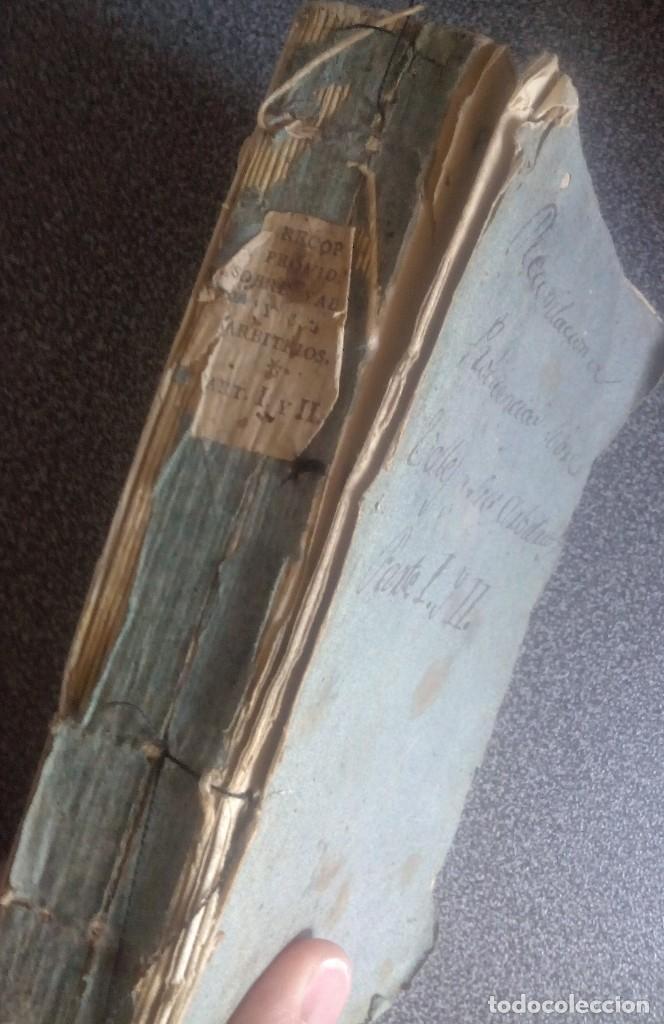1802 - RECOPILACIÓN DE PROVIDENCIAS RELATIVAS A VALES REALES - DEUDA, DESAMORTIZACIÓN, PAPEL MONEDA (Libros Antiguos, Raros y Curiosos - Ciencias, Manuales y Oficios - Derecho, Economía y Comercio)