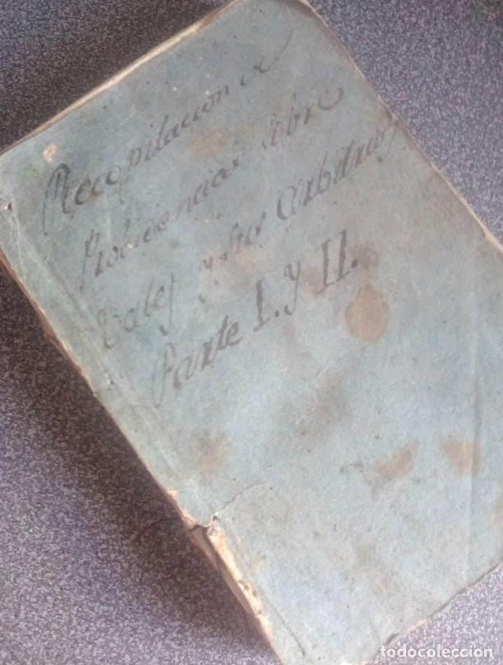 Libros antiguos: 1802 - Recopilación de providencias relativas a vales reales - deuda, desamortización, papel moneda - Foto 2 - 86486136