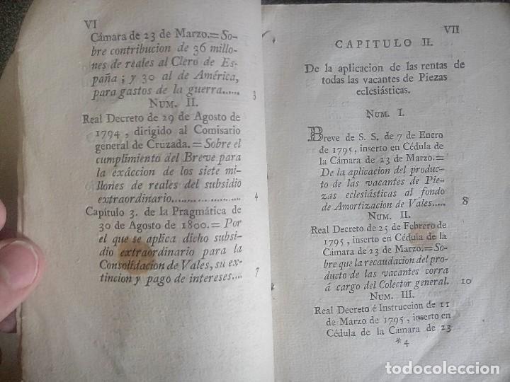 Libros antiguos: 1802 - Recopilación de providencias relativas a vales reales - deuda, desamortización, papel moneda - Foto 6 - 86486136