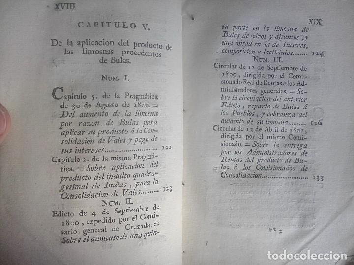Libros antiguos: 1802 - Recopilación de providencias relativas a vales reales - deuda, desamortización, papel moneda - Foto 12 - 86486136