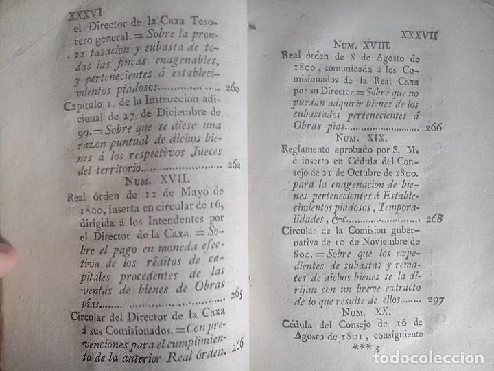 Libros antiguos: 1802 - Recopilación de providencias relativas a vales reales - deuda, desamortización, papel moneda - Foto 21 - 86486136