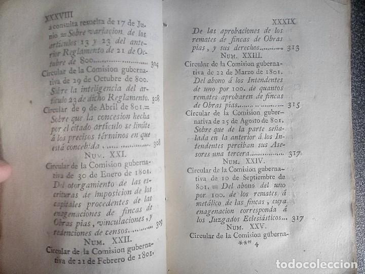 Libros antiguos: 1802 - Recopilación de providencias relativas a vales reales - deuda, desamortización, papel moneda - Foto 22 - 86486136