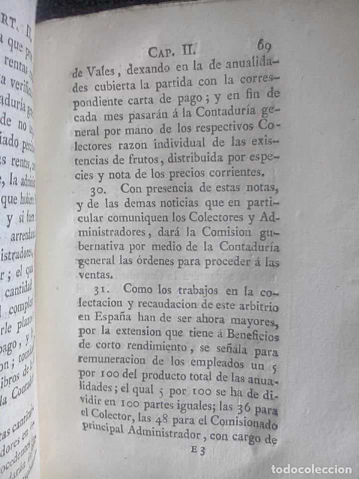 Libros antiguos: 1802 - Recopilación de providencias relativas a vales reales - deuda, desamortización, papel moneda - Foto 28 - 86486136