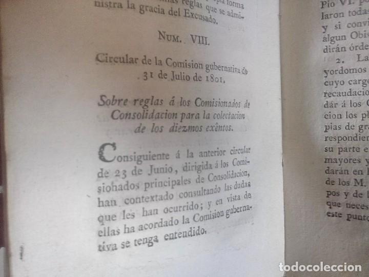 Libros antiguos: 1802 - Recopilación de providencias relativas a vales reales - deuda, desamortización, papel moneda - Foto 29 - 86486136