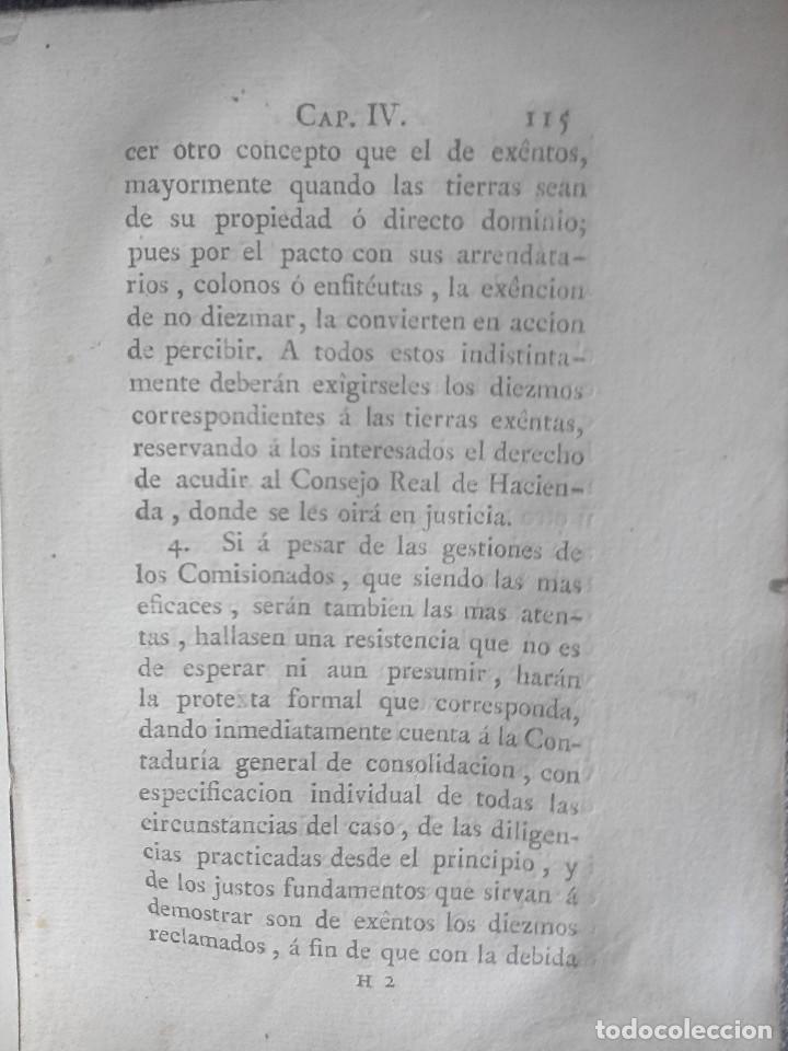Libros antiguos: 1802 - Recopilación de providencias relativas a vales reales - deuda, desamortización, papel moneda - Foto 30 - 86486136
