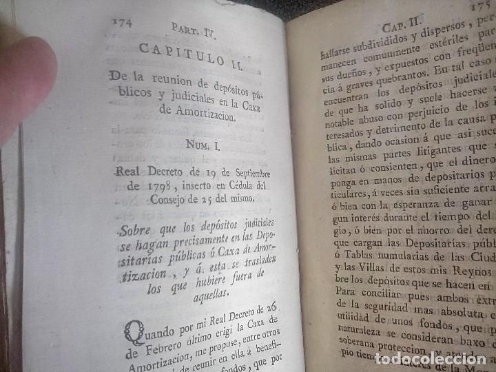 Libros antiguos: 1802 - Recopilación de providencias relativas a vales reales - deuda, desamortización, papel moneda - Foto 31 - 86486136