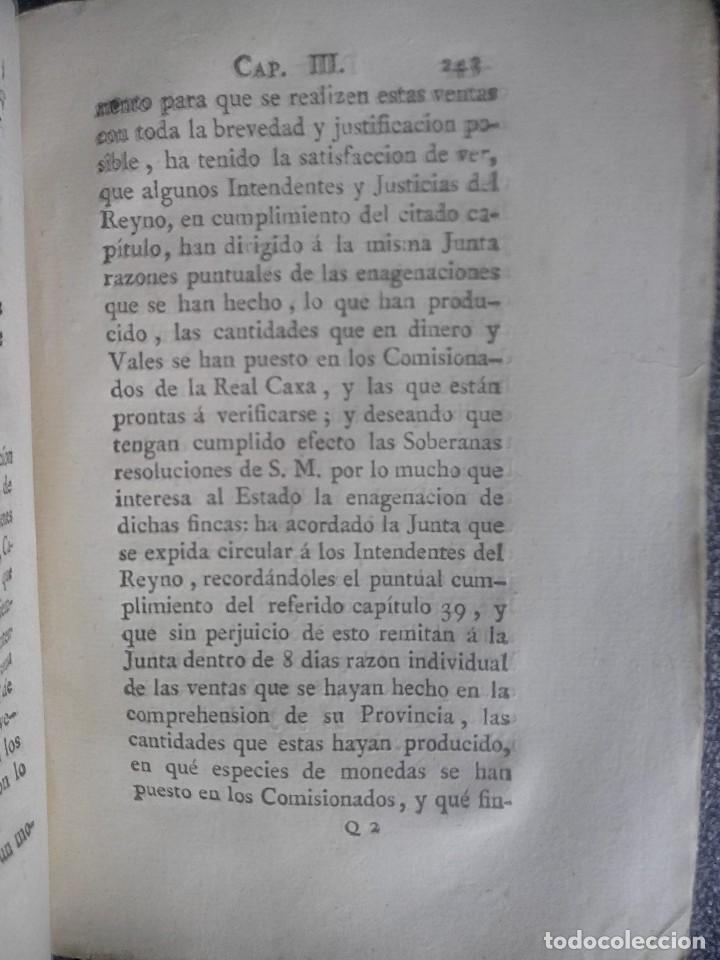 Libros antiguos: 1802 - Recopilación de providencias relativas a vales reales - deuda, desamortización, papel moneda - Foto 33 - 86486136