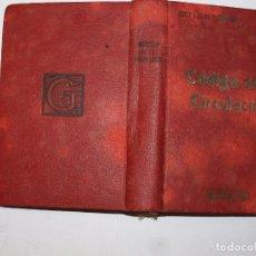 Libros antiguos: CÓDIGO DE CIRCULACIÓN. REVISTA DE LOS TRIBUNALES, 1ª EDICIÓN MADRID, 1934. . Lote 87687972