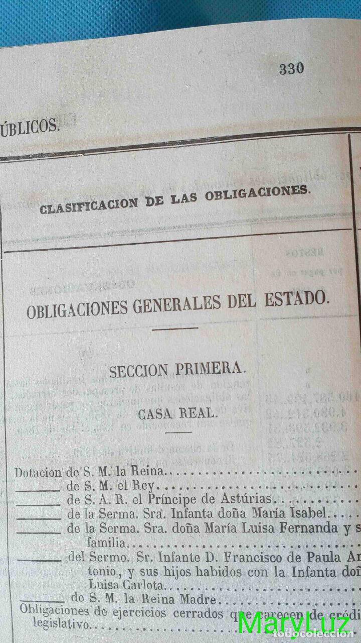 Libros antiguos: CUENTA GENERAL DEL ESTADO DEL AÑO 1860. - Foto 23 - 89592080