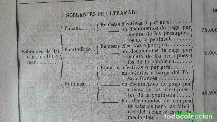 Libros antiguos: CUENTA GENERAL DEL ESTADO DEL AÑO 1860. - Foto 32 - 89592080