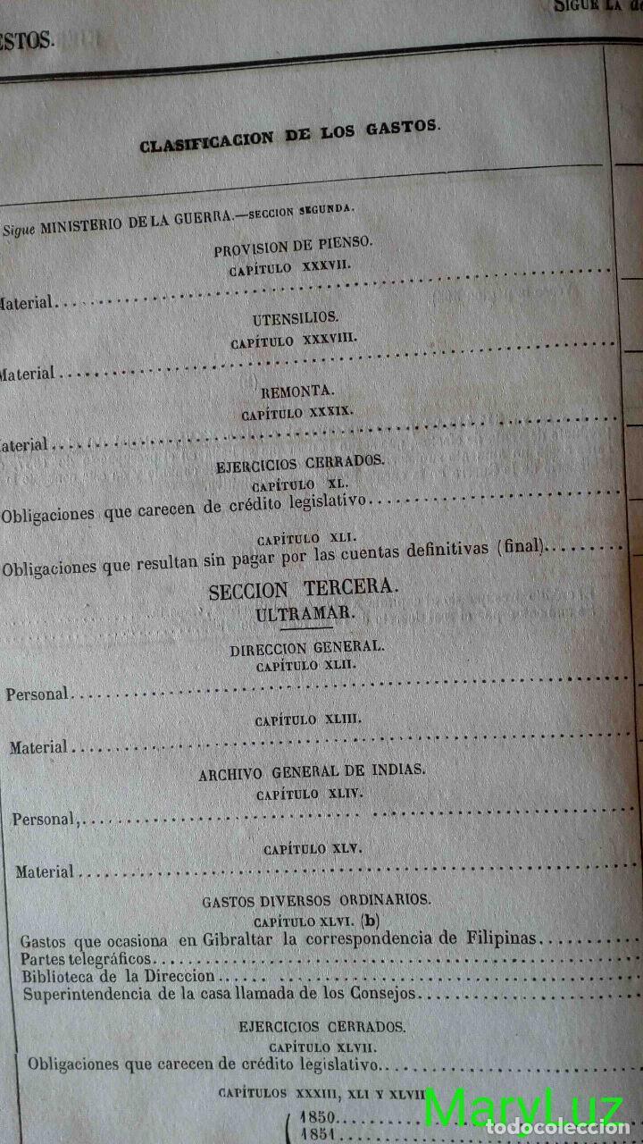 Libros antiguos: CUENTA GENERAL DEL ESTADO DEL AÑO 1860. - Foto 37 - 89592080