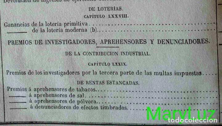 Libros antiguos: CUENTA GENERAL DEL ESTADO DEL AÑO 1860. - Foto 39 - 89592080