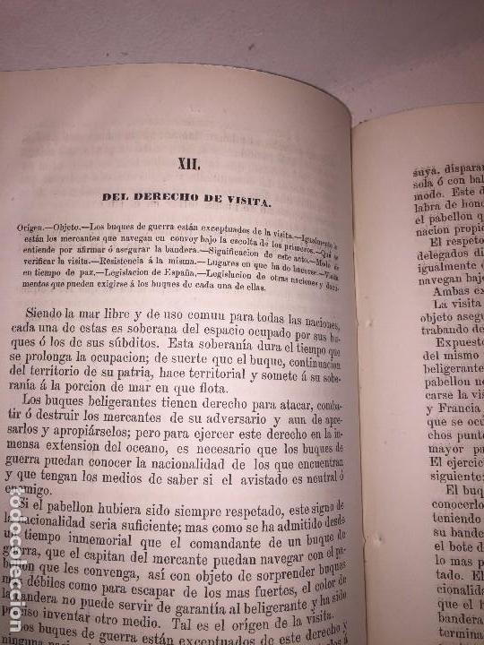 Libros antiguos: Nociones derecho maritimo internacional colonial Habana Cuba 1863 colonia Cesareo Fernandez - Foto 2 - 89790348