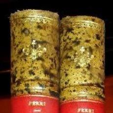 Libros antiguos: SOCIOLOGÍA CRIMINAL (E. FERRI, 1907) PLENA PIEL, SIN USAR. Lote 90175924