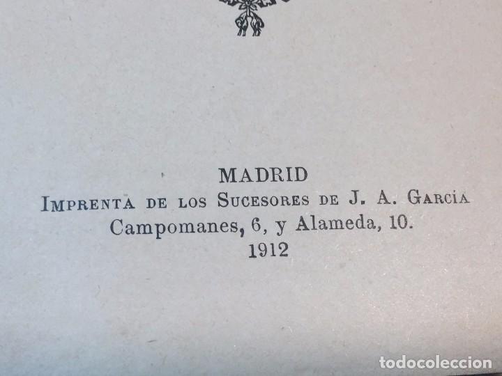 Libros antiguos: Manual Uso señores diputados 1912 Alfonso XIII constitución monarquía índice de leyes usado - Foto 3 - 90194952