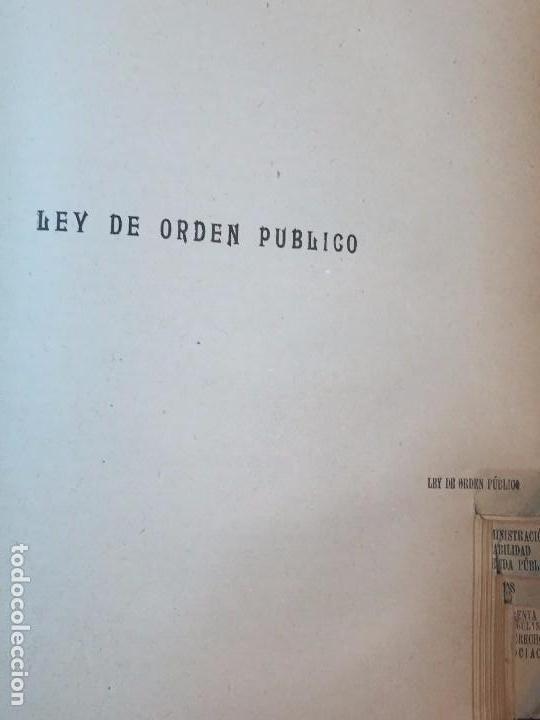 Libros antiguos: Manual Uso señores diputados 1912 Alfonso XIII constitución monarquía índice de leyes usado - Foto 9 - 90194952
