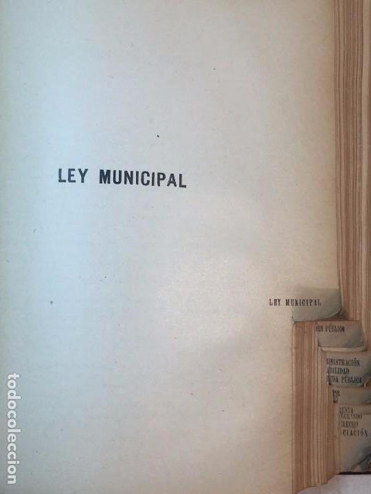 Libros antiguos: Manual Uso señores diputados 1912 Alfonso XIII constitución monarquía índice de leyes usado - Foto 10 - 90194952