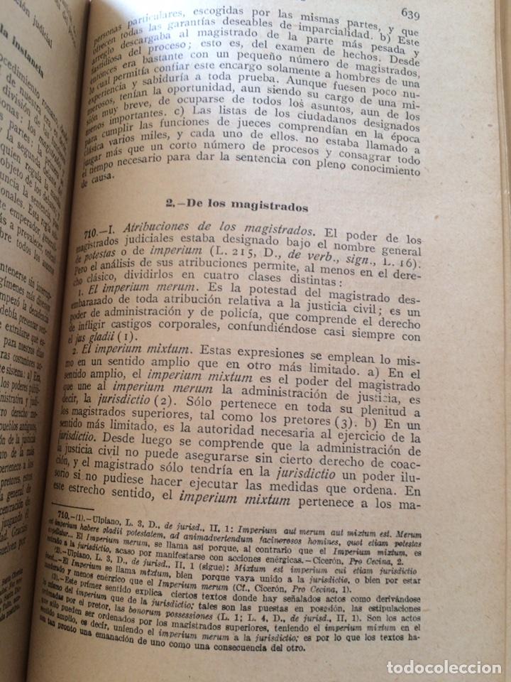 Libros antiguos: Tratado elemental de Derecho Romano Eugene Petit (1927) - Foto 9 - 90814483
