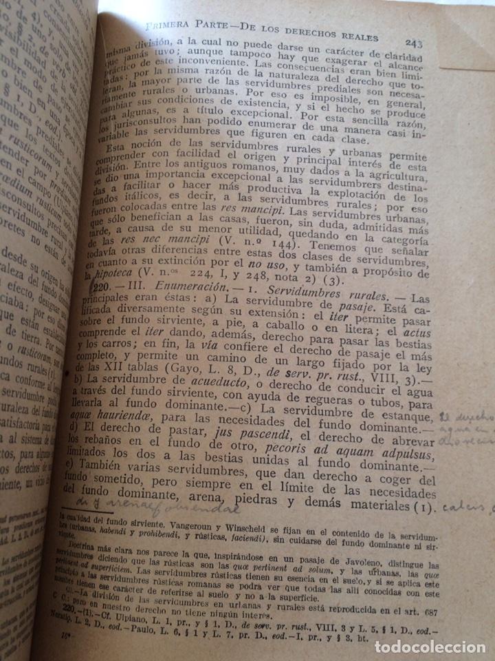 Libros antiguos: Tratado elemental de Derecho Romano Eugene Petit (1927) - Foto 11 - 90814483
