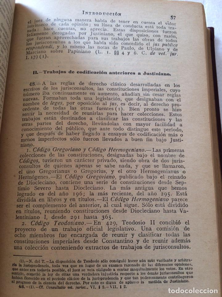 Libros antiguos: Tratado elemental de Derecho Romano Eugene Petit (1927) - Foto 13 - 90814483