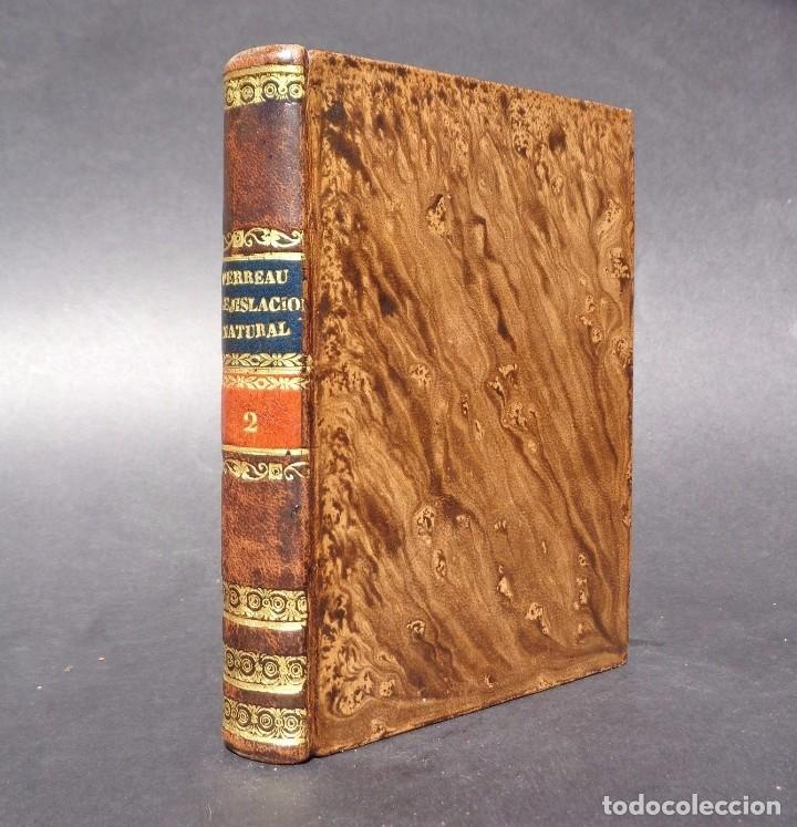 1836 ELEMENTOS DE LEGISLACION NATURAL - DERECHO - PERREAU (Libros Antiguos, Raros y Curiosos - Ciencias, Manuales y Oficios - Derecho, Economía y Comercio)