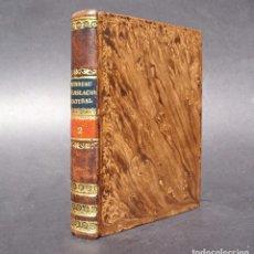 Libros antiguos: 1836 ELEMENTOS DE LEGISLACION NATURAL - DERECHO - PERREAU. Lote 90981850