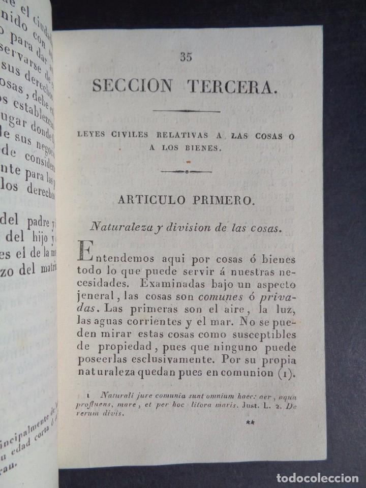 Libros antiguos: 1836 ELEMENTOS DE LEGISLACION NATURAL - DERECHO - PERREAU - Foto 5 - 90981850