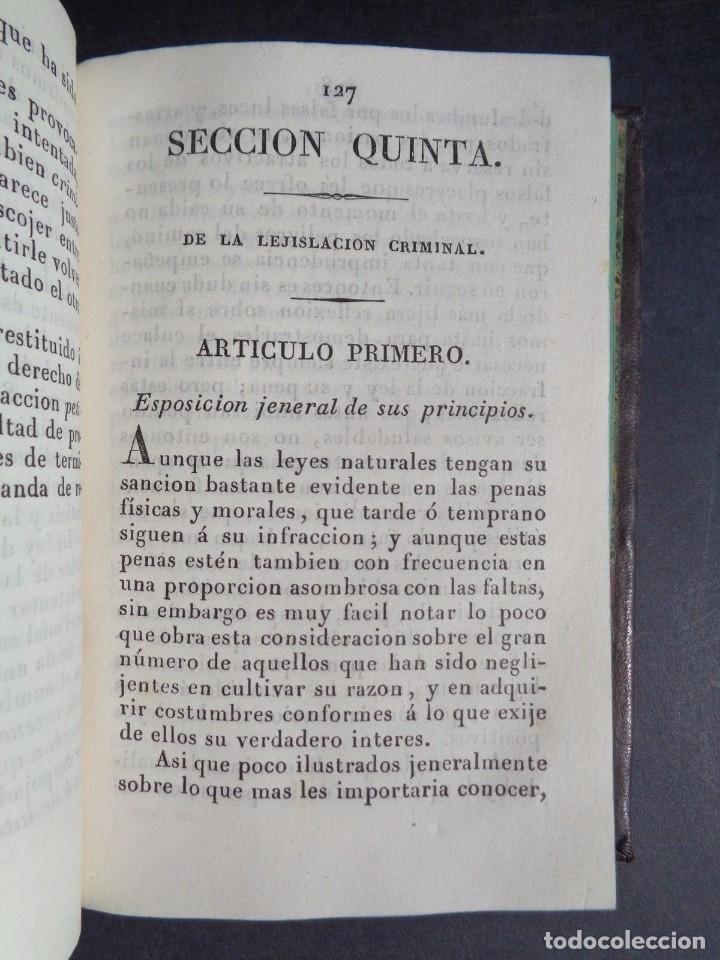 Libros antiguos: 1836 ELEMENTOS DE LEGISLACION NATURAL - DERECHO - PERREAU - Foto 6 - 90981850