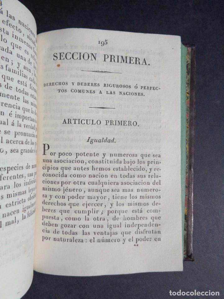 Libros antiguos: 1836 ELEMENTOS DE LEGISLACION NATURAL - DERECHO - PERREAU - Foto 7 - 90981850