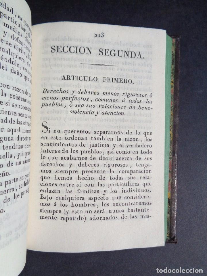 Libros antiguos: 1836 ELEMENTOS DE LEGISLACION NATURAL - DERECHO - PERREAU - Foto 8 - 90981850