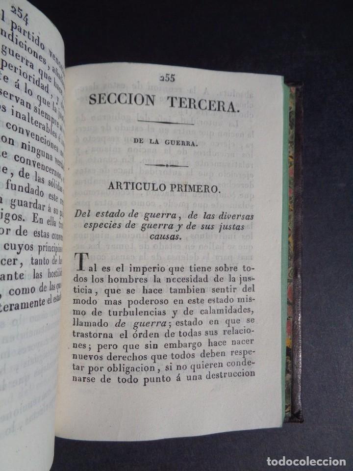 Libros antiguos: 1836 ELEMENTOS DE LEGISLACION NATURAL - DERECHO - PERREAU - Foto 9 - 90981850