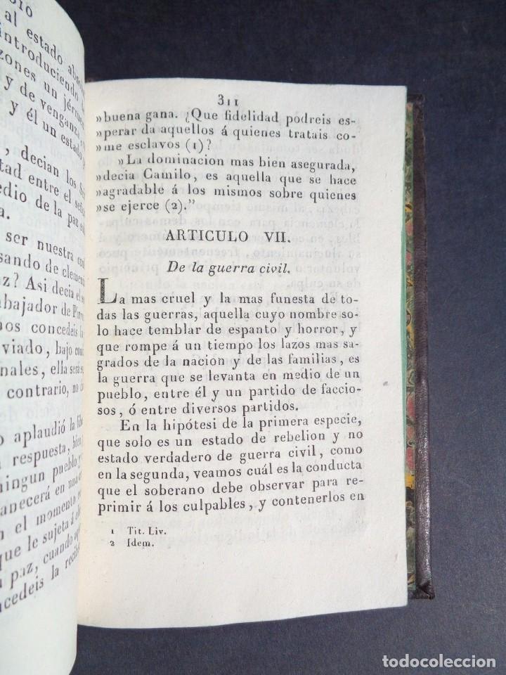 Libros antiguos: 1836 ELEMENTOS DE LEGISLACION NATURAL - DERECHO - PERREAU - Foto 10 - 90981850